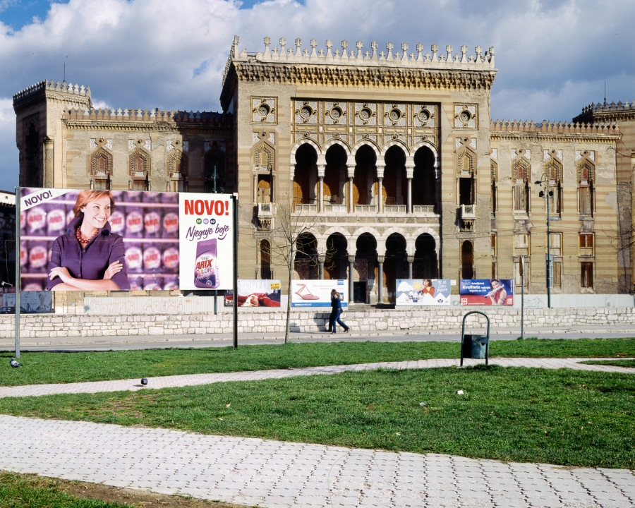 The National Library Sarajevo