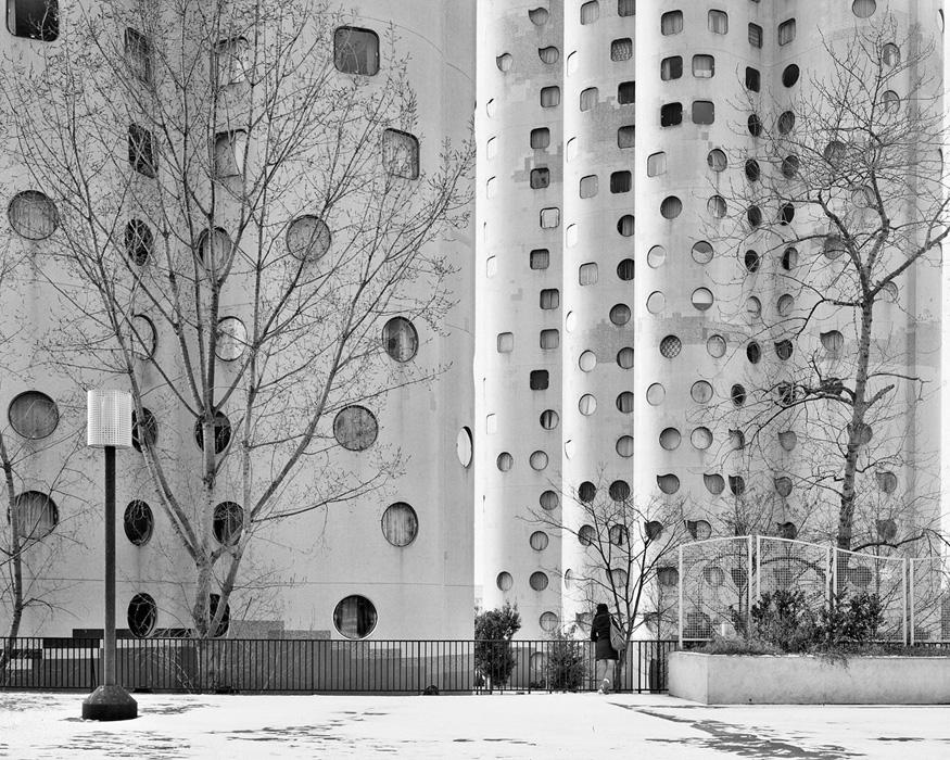Les Tours Aillaud (tours nuages) - Cité Pablo Picasso, Nante