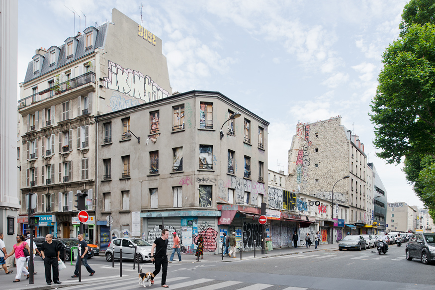 LOGEMENTS ET CENTRE D'ANIMATION BOULEVARD DE LA CHAPELLE A PARIS, 2009-2014