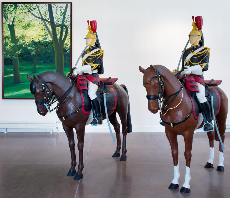 Exposition Xavier Veilhan : Avant - Parc culturel de Rentilly