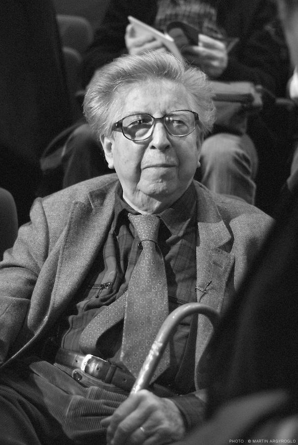 Henri Dutilleux, Cnsmdp, 2006