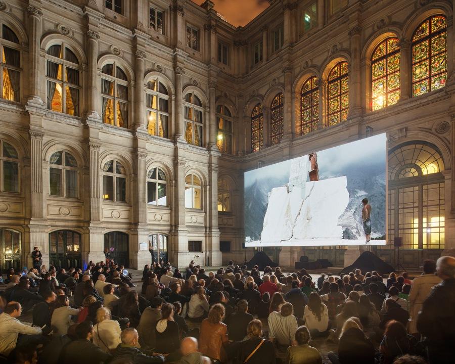 Nuit Blanche 2013.  Yuri Ancarani - Il Capo, 2010, Piattaforma L
