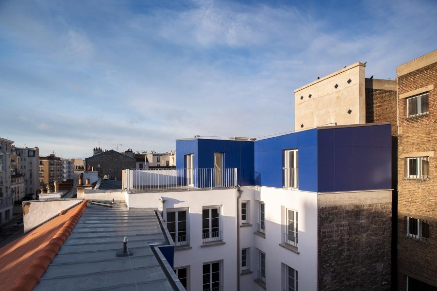 Immeuble rue de Neuilly / Clichy-la-Garenne - Prinvault architec