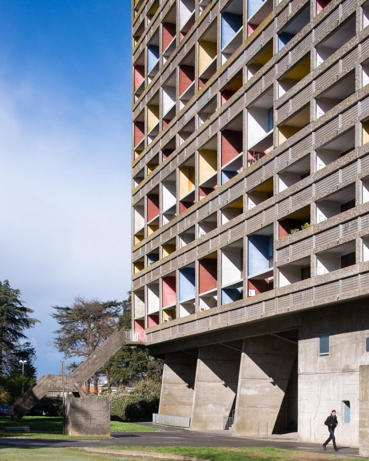 La Maison radieuse (Cité radieuse de Rezé), Nantes, 2014 - Le Corbusier