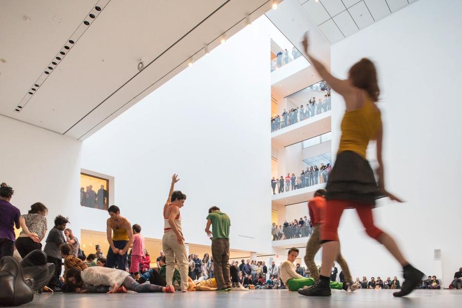 Boris Charmatz's 'Levée des Conflits Extended' at MoMA