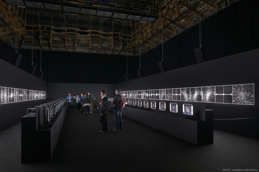 Supersymmetry - Ryoji Ikeda - le lieu unique