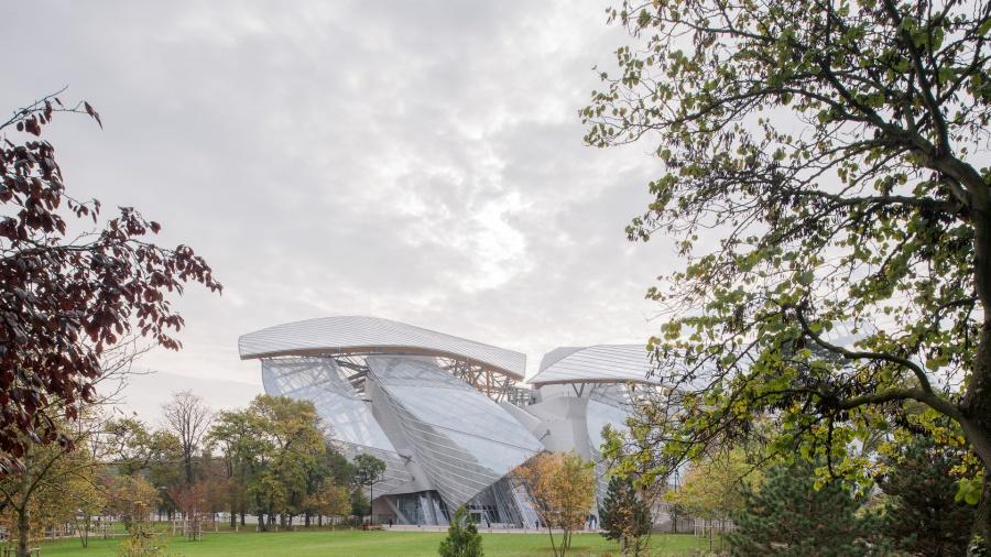 Fondation d'entreprise Louis Vuitton. Architecte Frank Gehry