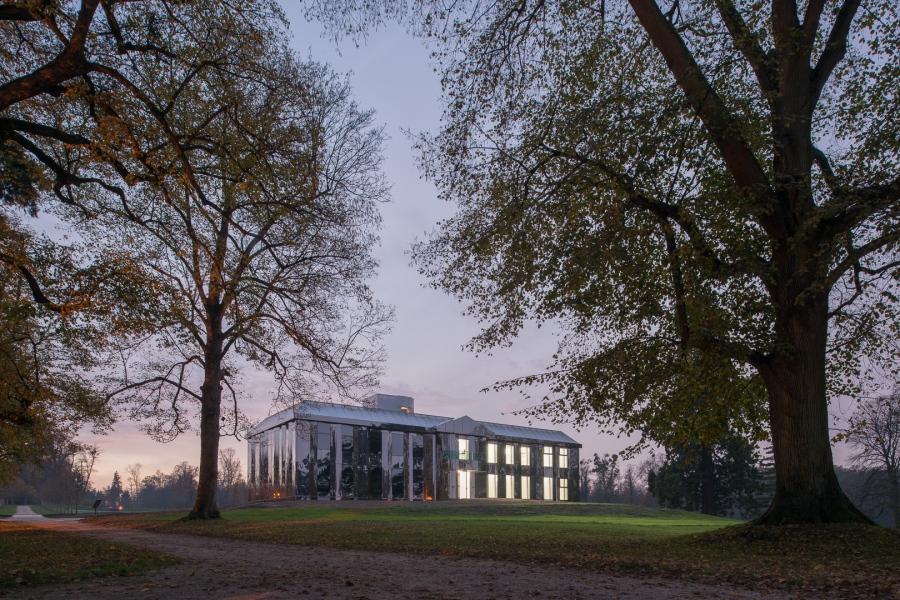 Château de Rentilly en centre d'art contemporain par Bona Lemer
