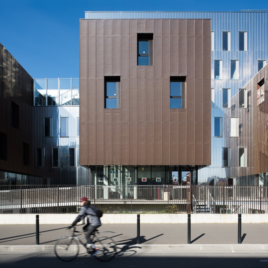 Centre psychiatrique Henri Duchêne, Aubervilliers - Soa archite
