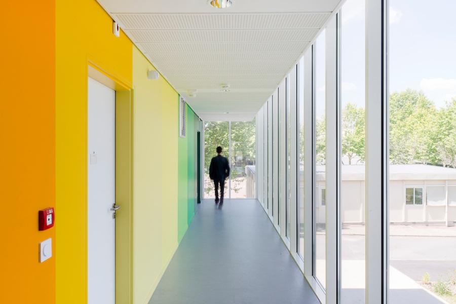 Internat de 100 places, Savigny-le-Temple - SOA Architectes