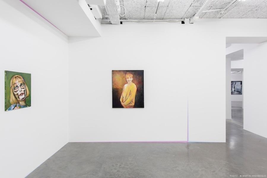 exposition (un mural, des tableaux) 22.01 - 12.04.15 - le platea