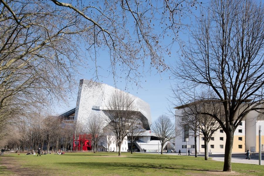La Philharmonie de Paris, conçue par l'architecte Jean Nouvel,