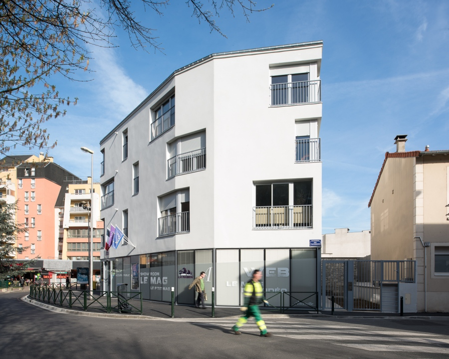 Immeuble rue Victor Hugo à Alfortville (94)- Prinvault Architectes