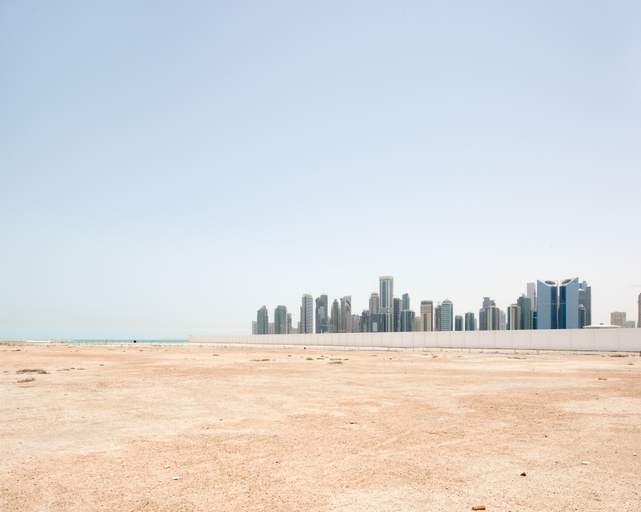 Doha, Qatar, 2015. Le quartier d'affaires West Bay