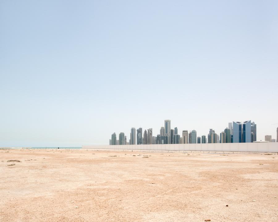 Doha, Qatar, 2015. Le quartier d'affaires West Bay