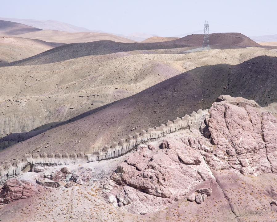 forteresse d'Hosap, Turquie Orientale