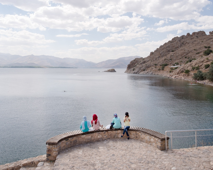 L'île d'Akdamar, Lac de Van, Turquie