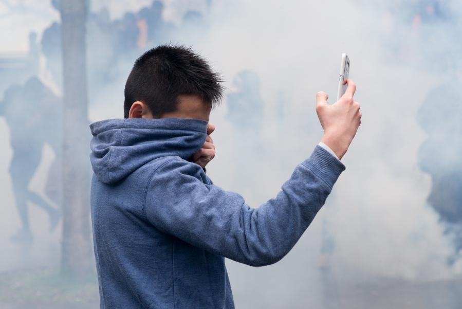 Manifestation contre la loi travail (loi El Khomri)